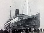 SS King Orry aground at New Brighton, 1921..JPG