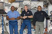 STS-129 Hobaugh Melvin Satcher