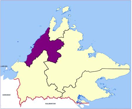 Bahagian Pantai Barat, Sabah