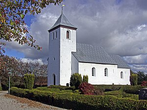 Sabro, Denmark - Image: Sabro kirke (Aarhus)