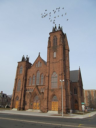 North End, Springfield, Massachusetts - Sacred Heart Church