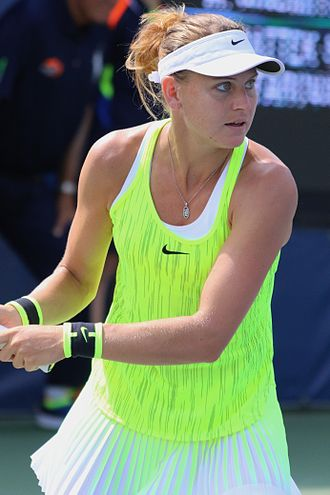 Lucie Šafářová - Šafářová at the 2016 US Open