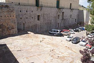 Sagunto - Saguntum rear wall of ancient theatre