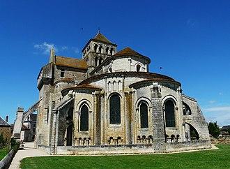 Saint-Jouin-de-Marnes - The church in Saint-Jouin-de-Marnes