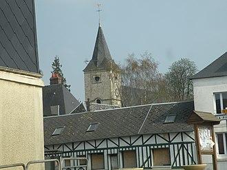 Saint-Victor-l'Abbaye - Belltower from Saint-Victor