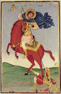 200px-Saint_Demetrius_(bulgarian_icon) Всемирното Православие - Редове на студента