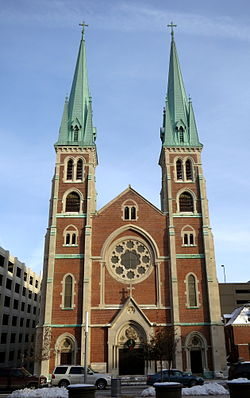 Saint John the Evangelist Church (Indianapolis, Indiana) - exterior.jpg