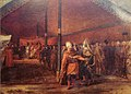 Saint Priest with the Grand Vizier at the camp of Daud Pasha in 1769 by Antoine de Favray.jpg