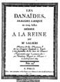 Salieri - Danaides (1784) page de titre.png