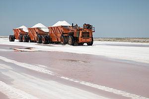 Guerrero Negro - Salt production in Guerrero Negro