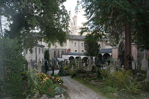 Salzburger st peters friedhof 2