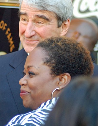 Regina Taylor - Taylor with Sam Waterston in 2010