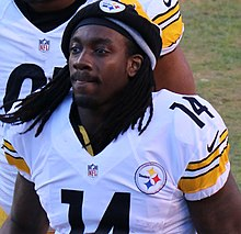 ddb52c117 Sammie Coates - Coates with the Pittsburgh Steelers in 2016