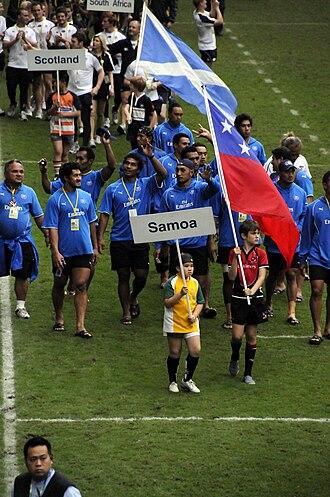 Samoa national rugby sevens team - Samoa sevens team, 2014