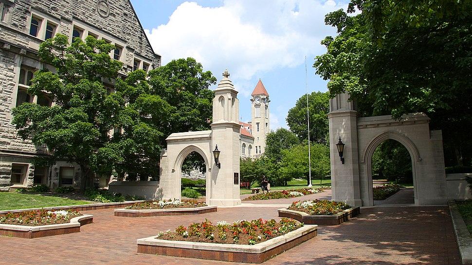 Sample Gates, Indiana University Bloomington, 2010