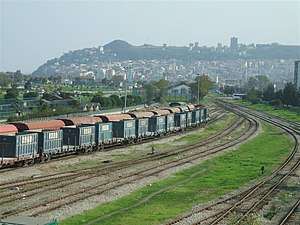 Samsun–Kalın railway - The northern terminus of the railway, Samsun.