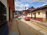 San Cristóbal - Rue ocre.JPG
