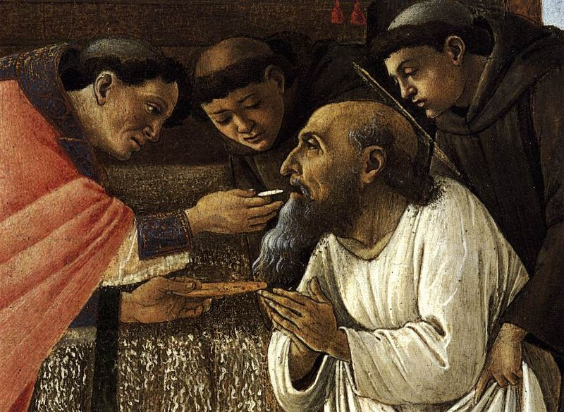File:Sandro Botticelli - The Last Communion of St Jerome (detail) - WGA2834.jpg