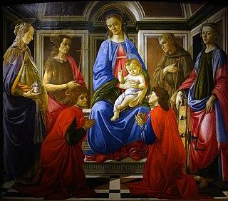 <i>SantAmbrogio Altarpiece</i> (Botticelli) painting by Sandro Botticelli