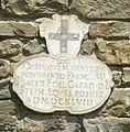 Santa croce, loggiato sud, esterno stemma del garbo.jpg