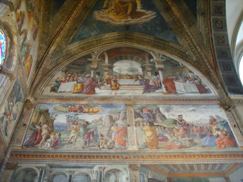Santa maria novella, cappella tornabuoni, domenico ghirlandaio8.JPG