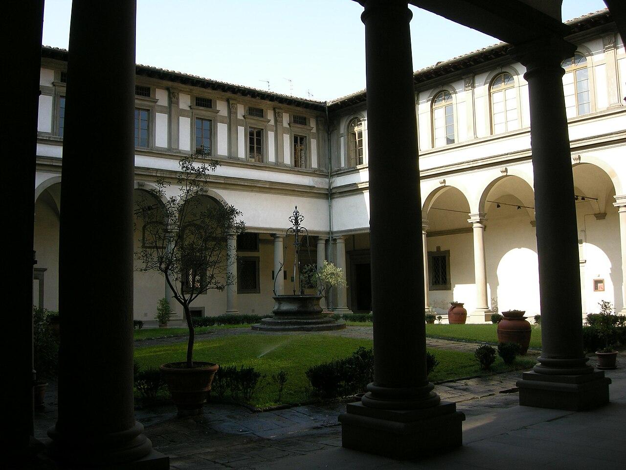 Chiostro Grande dell'Ammannati, Basilica Santa Maria del Santo Spirito, Florence