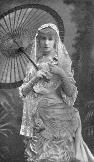 Sarah Bernhardt - La Dame aux Camelias (1881)