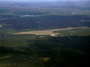 Adirondack Regional Airport - Aerial view, 2007
