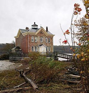 Saugerties Light - Image: Saugerties Lighthouse