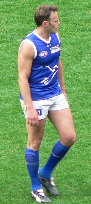 Sav Rocca - Rocca while he played for the North Melbourne Kangaroos