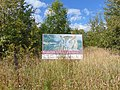 Scarborough, Ontario, Canada, Rouge Park sign, Old Finch Avenue.jpg