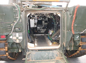 Puma (IFV) - View of troop compartment