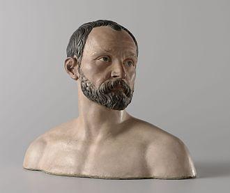 Johan Gregor van der Schardt - Self Portrait Bust, c. 1573