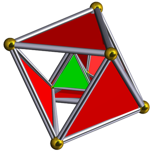 Semiregular polytope - Image: Schlegel half solid rectified 5 cell