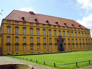 University of Osnabrück - Osnabrück Castle, main building of the university, view from the inner court