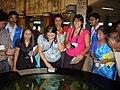 Science Career Ladder Workshop Participants Visiting Science City - Indo-US Exchange Programme - Kolkata 2008-09-17 01266.JPG
