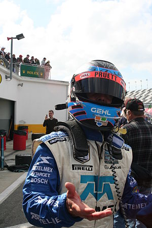 Scott Pruett - Pruett at the 2008 24 Hours of Daytona