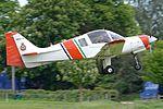 Scottish Aviation Bulldog 128 'HKG-5' (G-BULL) (32952028351).jpg