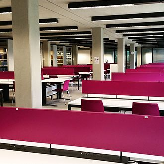 Social Science Library, Oxford - Seating in SSL
