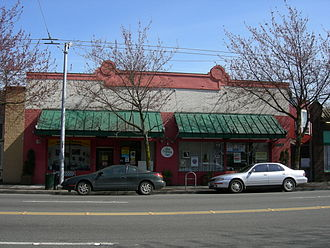 Freedom Socialist Party - New Freeway Hall, Columbia City, Seattle, Washington, party headquarters.