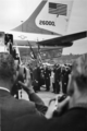 Seattle Mayor Braman greeting President Johnson at Sea-Tac Airport, 1966.png