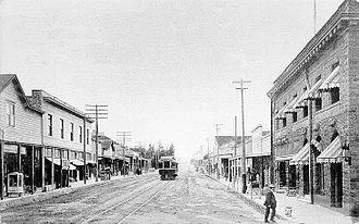 Sebastopol, California - Main Street, 1908