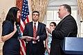 Secretary Pompeo Officiates Ceremonial Swearing-in Ceremony for Assistant Secretary Breier (44857267385).jpg
