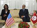Secretary Rice With Tunisian Foreign Minister Abdallah.jpg