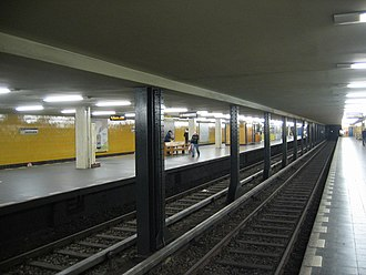 Seestraße (Berlin U-Bahn) - U-Bahn station Seestraße