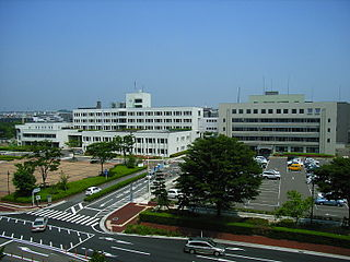 Izumi-ku, Sendai Ward in Tohoku, Japan
