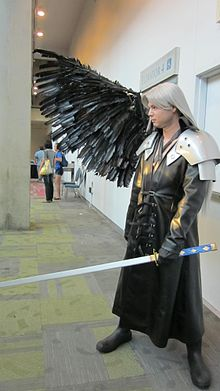 Cosplayer de Séphiroth
