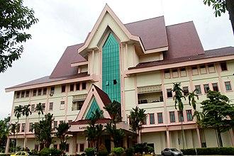 Seri Negeri complex - Blok Laksamana houses the Malacca State Legislative Assembly.