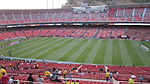 Set up for Candlestick Park at Club América & Real Madrid friendly match 2010-08-04 1