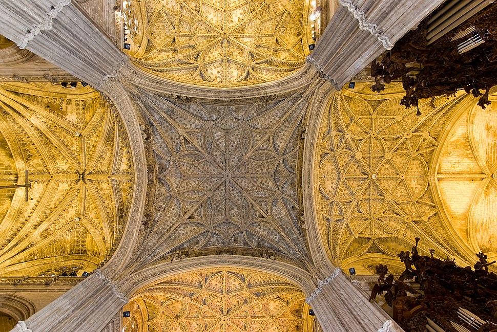 Sevilla cathedral - vault